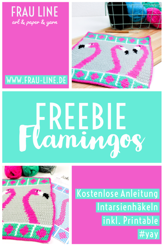 Kostenlose Häkelanleitung Flamingos
