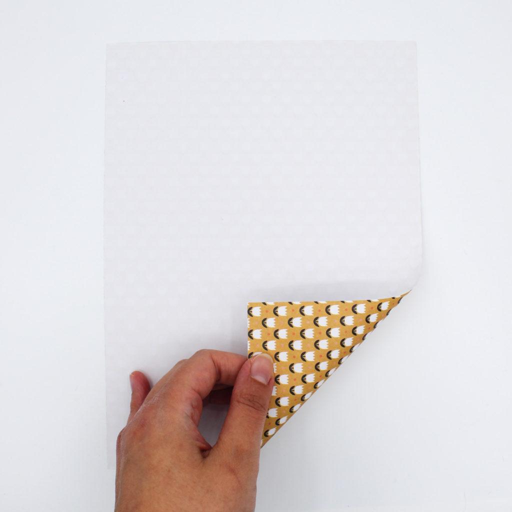 Anleitung Papiertütchen falten