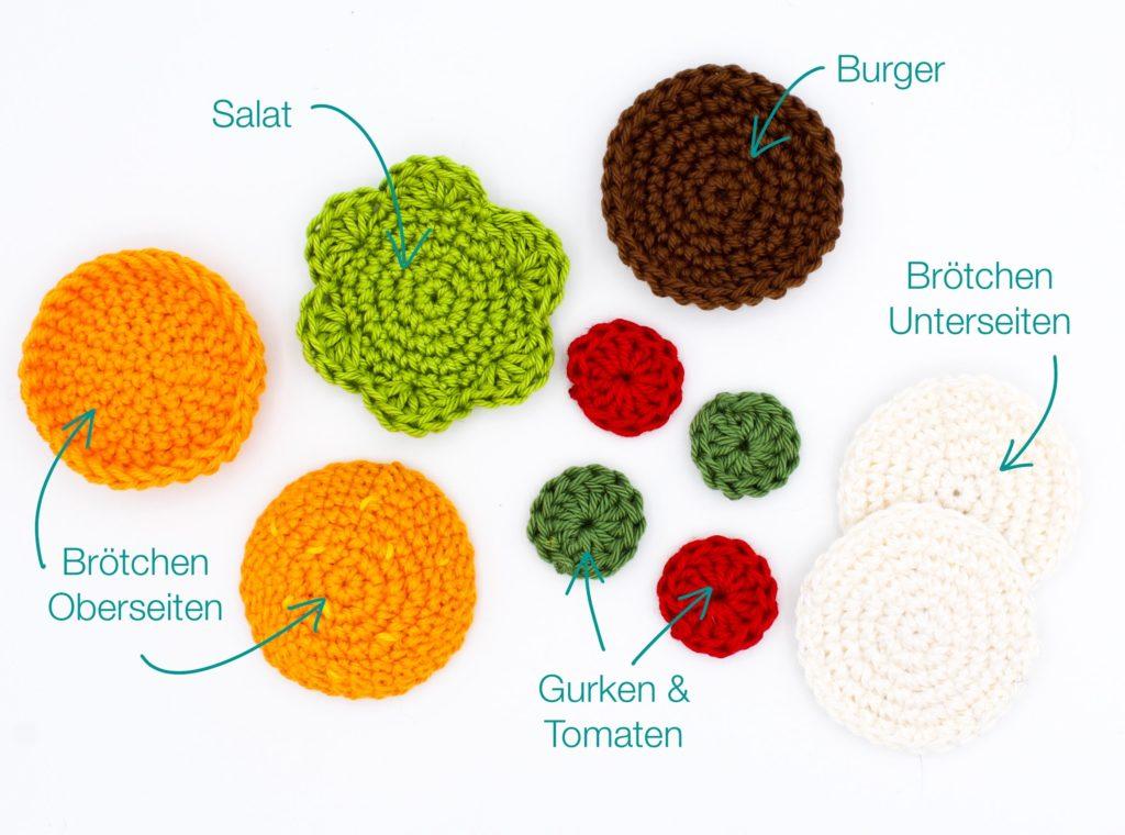 Kostenlose Häkelanleitung Hamburger Nadelkissen