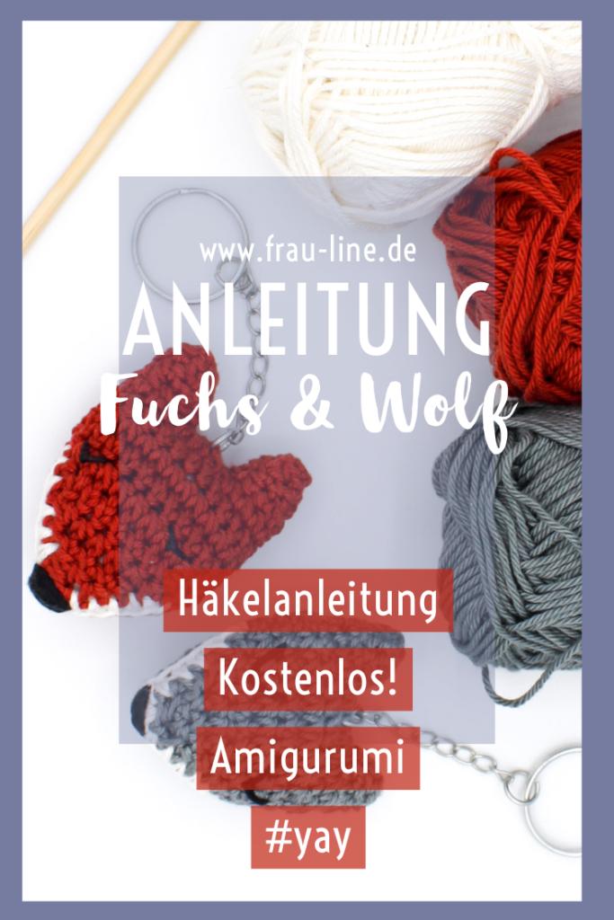 Kostenlose Anleitung Amigurumi hkeln Fuchs