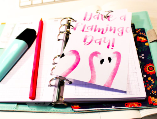 Download Printable PDF Flamingo