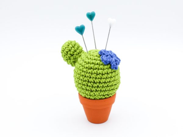 Häkelanleitung Nadelkissen Kaktus