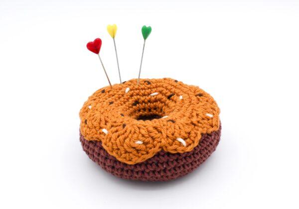 Anleitung gehäkelter Donut