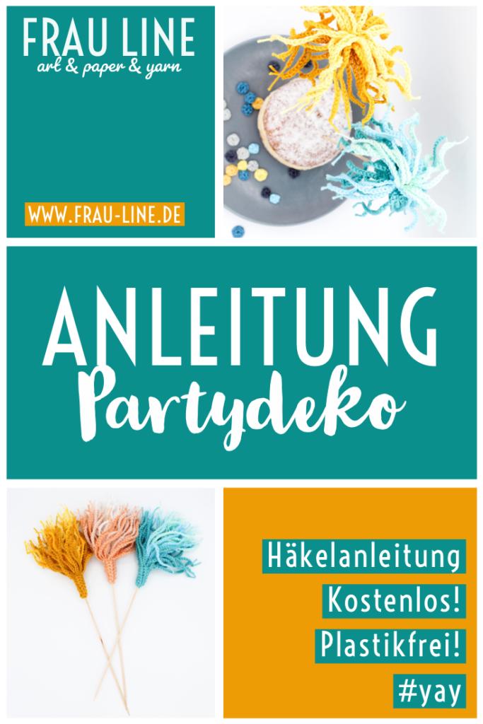 dekoration Kindergeburtstag Plastikfrei Minimal Waste