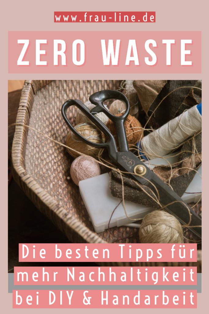Pin Tipps Zero Waste Handmade