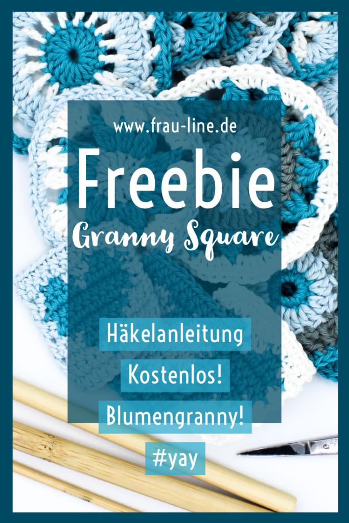 Kostenlose Anleitung gehäkelte Granny Squares