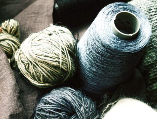 Nachhaltigkeit & Handarbeit Wolle Material