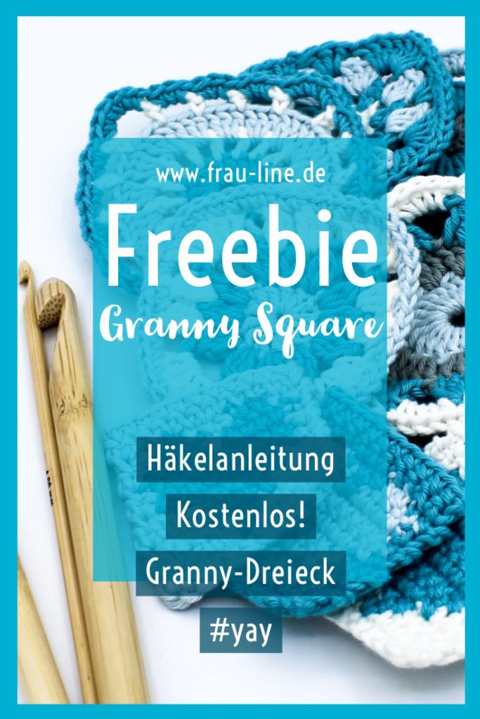 Pin Kostenlose Anleitung gehäkelte Granny Squares