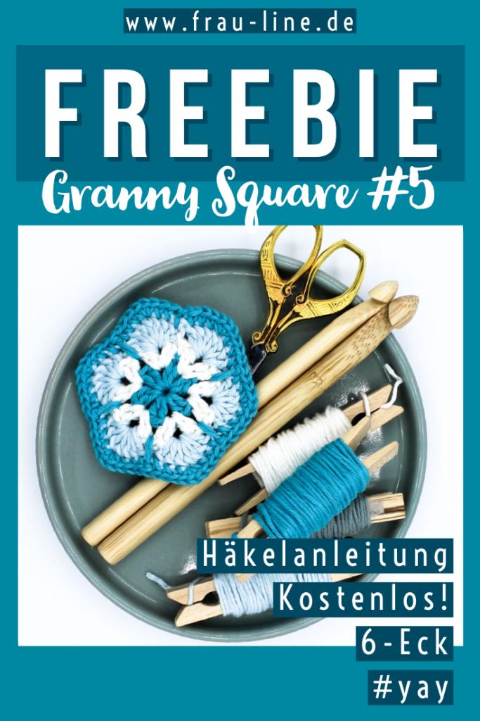 Pin Kostenlose Anleitung Granny Squares häkeln