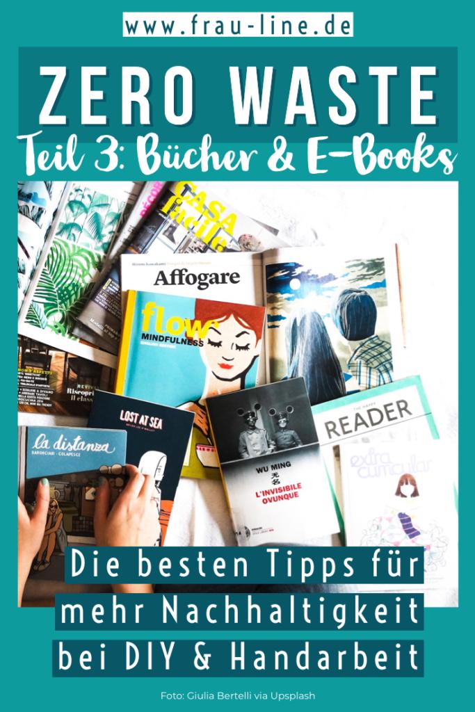 Pin Nachaltigkeit Bücher E-Book-Reader Tutorials Häkelanleitungen