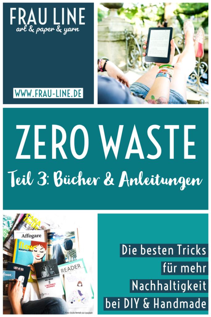 Pin Zero Waste Bücher Anleitungen E-Books