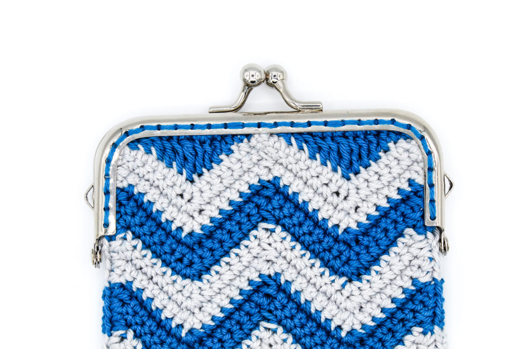 Kostenlose Häkelanleitung Tasche Zick Zack Muster