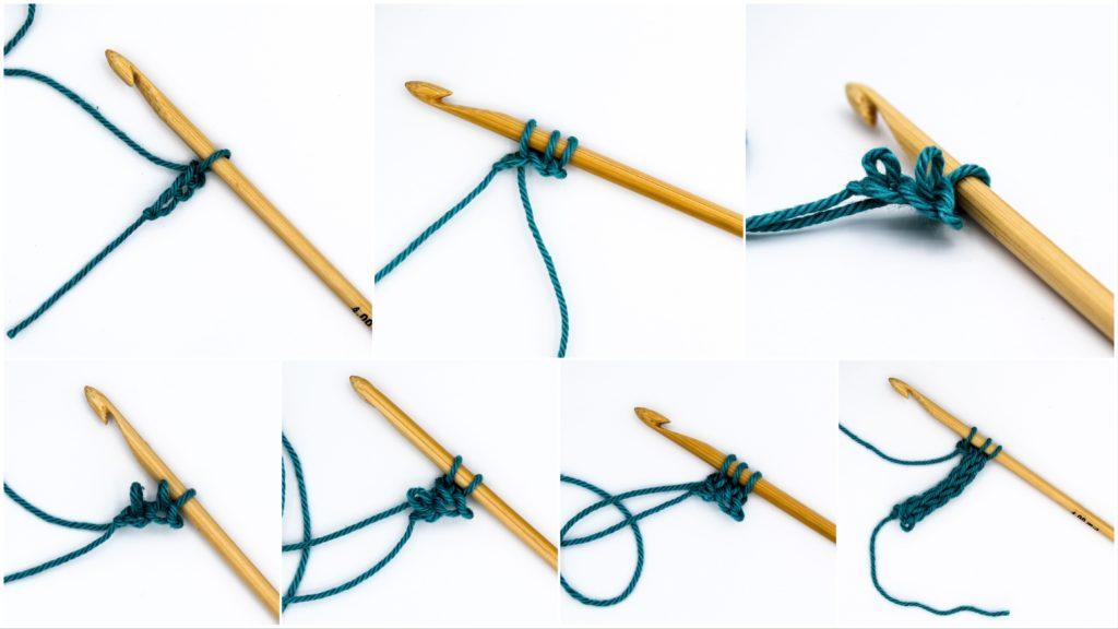 Kostenlose Anleitung I-Cord häkeln lernen Strickschnur