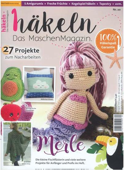 häkeln - das MaschenMagazin  (Nr. 20 / Juni 2020) PARTNER Medien Verlag