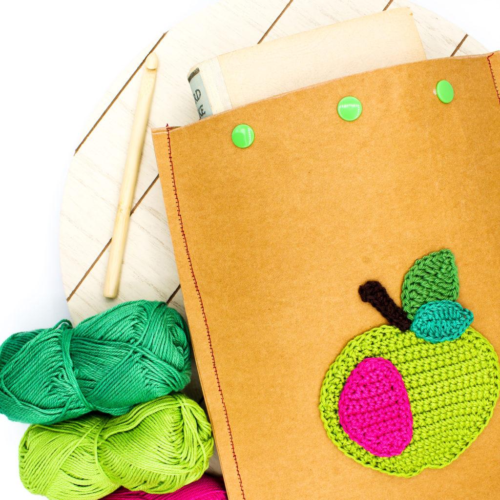 Frau Line Kostenlose Nähanleitng Häkelanleitung Geschenke verpacken Minimal Waste
