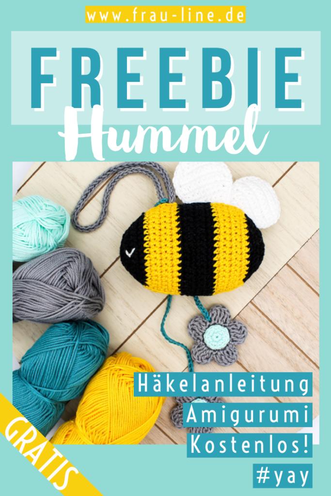 Pin Frau Line Anleitung gehäkelte Biene Amigurumi kostenlos