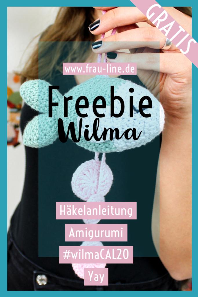 Frau Line CAL Amigurumi Fisch Wilma kostenlose Anleitung