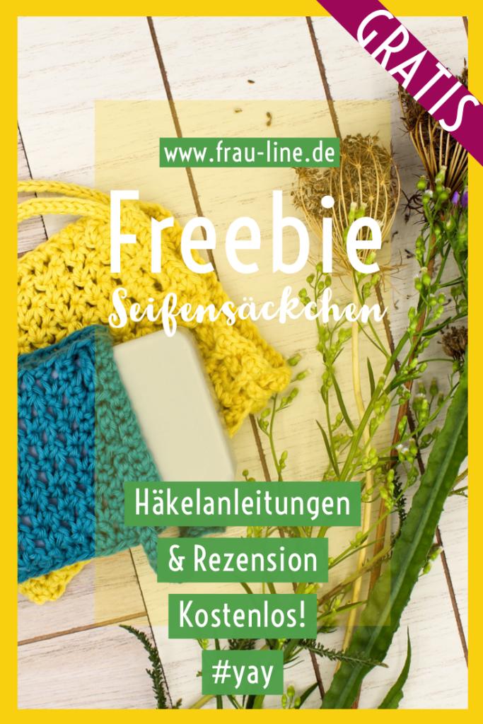 Pin Frau Line Kostenlose Anleitung gehäkeltes Seifensäckchen