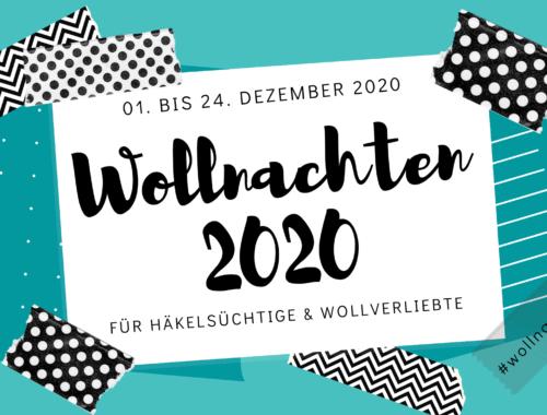 Cover Frau Line Häkeln Challenge Wollnachten 2020 Häkeln Stricken Wolle