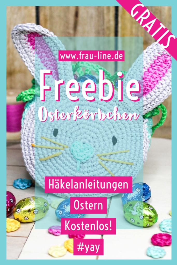 Pin Frau Line Kostenlose Anleitung Ostern häkeln Osterhase