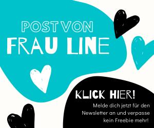 Frau Line Häkelblog Häkelanleitungen Newsletter